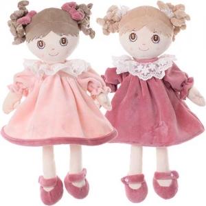 Κουκλίτσες με ροζ φορεματάκια